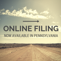 Online Filing Now Available in Pennsylvania