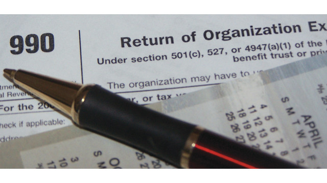 IRS Form 990 Due May 15, 2015