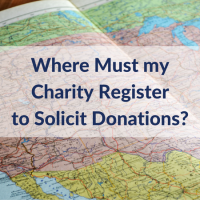 Where Must my Charity Register to Solicit Donations?
