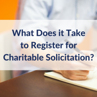 What Does it Take to Register for Charitable Solicitation?
