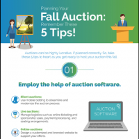 Infographic: 5 Tips for Planning your Fall Auction