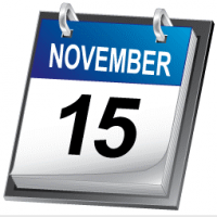 November 15 Filing Deadline for Charities