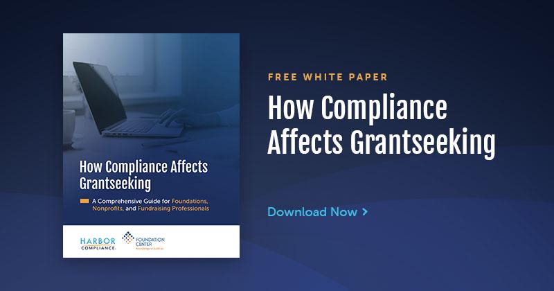 Harbor Compliance & Foundation Center Release Grantseeking