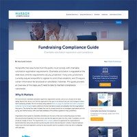 Charitable Registration Questions? Our Fundraising Compliance Guide Has Answers
