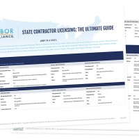 Harbor Compliance Releases State Contractor Licensing Guide